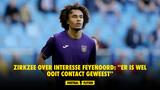 Zirkzee over interesse Feyenoord: ''Er is wel ooit contact geweest''