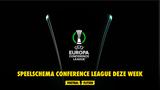 Speelschema Conference League deze week