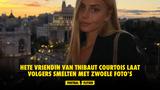 Hete vriendin van Thibaut Courtois laat volgers smelten met zwoele foto's