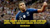 """STRAF! Mbappé is bijzonder lovend over Rode Duivel: """"Zag nog nooit iemand zo explosief"""""""