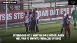 Feyenoord O21 wint na drie nederlagen wél van FC Twente/Heracles (VIDEO)