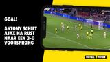 VIDEO, GOAL: Ajax - Borussia Dortmund 3-0 (Antony)