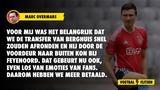 """Overmars legt uit waarom Ajax meer betaalt voor Berghuis: """"Wil dat hij door de voordeur vertrekt"""""""