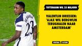 Valentijn Driessen: 'Ajax wil Bergwijn terughalen naar Amsterdam'