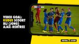 VIDEO GOAL: Kudus scoort bij (Jong) Ajax-rentree