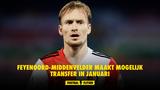 Feyenoord-middenvelder maakt mogelijk transfer in januari