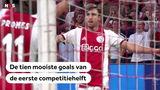 VIDEO: De tien mooiste doelpunten van de eerste seizoenshelft in de Eredivisie volgens de NOS