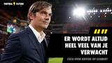 """Cocu reageert op kritiek op Schmidt en PSV: """"Er wordt altijd heel veel van je verwacht"""""""