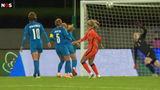 Samenvatting: IJsland-Oranje Leeuwinnen 0-2 (beauty-goal Jackie Groenen)