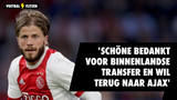 'Lasse Schöne bedankt voor binnenlandse transfer en wil terug naar Ajax'