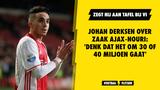 Johan Derksen over zaak Ajax-Nouri: 'Denk dat het om 30/40 miljoen gaat'