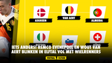 IETS ANDERS! Remco Evenepoel en Wout Van Aert blinken in 4-3-3 elftal vol met wielrenners
