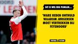 'Ware reden onthuld waarom Nicolai Jørgensen moet vertrekken bij Feyenoord'