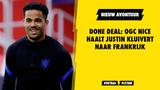 DONE DEAL: OGC Nice haalt Justin Kluivert naar Frankrijk