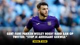 """Gent-fans pakken Wesley Hoedt hard aan op Twitter: """"Stop je arrogant gekwijl"""""""