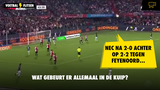 VIDEO GOAL: Feyenoord - NEC 2-2 (Cas Odenthal)