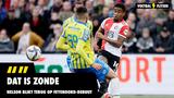 """Nelson blikt terug op Feyenoord-debuut: """"Dat is zonde"""""""