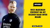 OFFICIEEL: Nick Marsman vertrekt na dit seizoen naar Inter Miami