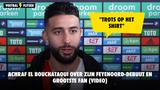 Achraf El Bouchataoui over zijn Feyenoord-debuut en grootste fan (VIDEO)