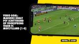 VIDEO GOAL: Madueke knalt PSV schitterend op voorsprong tegen FC Midtjylland (1-0)