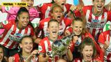Foto-serie: PSV-vrouwen winnen de KNVB Beker