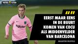 """Maarten Wijffels duidelijk over vergelijking tussen De Jong en Cruijff: """"Eerst maar in de buurt van Cocu komen"""""""
