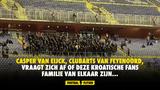 Coronaregels in Kroatië tijdens Zagreb-Feyenoord aan de laars gelapt: Of is dit familie van elkaar?