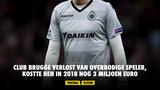 Club Brugge verlost van overbodige speler, kostte hen in 2018 nog 3 miljoen euro