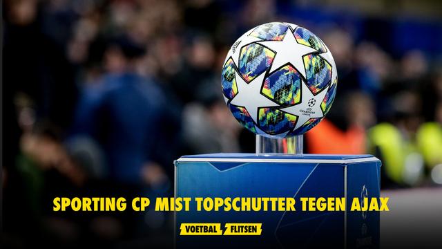Sporting CP topschutter Ajax Champions League-duel Pedro Gonçalves