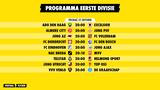 Programma Eerste Divisie 22 oktober