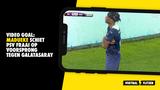 VIDEO GOAL: Madueke schiet PSV fraai op voorsprong tegen Galatasaray (0-1)
