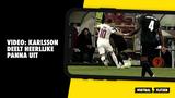 VIDEO: Karlsson deelt heerlijke panna uit