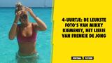 4-uurtje: De leukste foto's van Mikky Kiemeney, het liefje van Frenkie de Jong