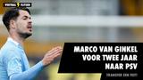 Transfer een feit: Marco van Ginkel tekent voor twee jaar bij PSV