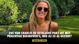 Zus van Charles De Ketelaere pakt uit met prachtige bikinifoto's, heb jij ze al gezien?