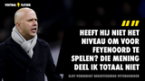 """Arne Slot neemt het op voor bekritiseerde Feyenoorder: """"Onzin dat hij niet goed genoeg is"""""""