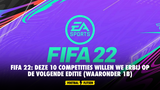 FIFA 22: deze 10 competities willen we erbij op de volgende editie (waaronder 1B)