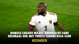 Romelu Lukaku maakt Anderlecht-fans helemaal gek met tweets tijdens RSCA-Club