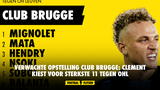 Verwachte opstelling Club Brugge: Clement kiest voor sterkste 11 tegen OHL