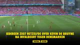 Iedereen zegt hetzelfde over Kevin De Bruyne na invalbeurt tegen Denemarken