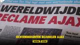 """""""Voetbal dat eeuwig had mogen duren"""" Nederlandse media smullen van Ajax"""