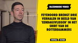 Eendagsvliegen in het shirt van Feyenoord
