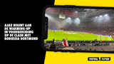 Ajax betreedt het veld voor warming-up