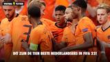 Dit zijn de tien beste Nederlanders in FIFA 22!