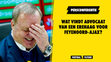 Wat vindt Advocaat van een erehaag voor Feyenoord-Ajax? Live persconferentie