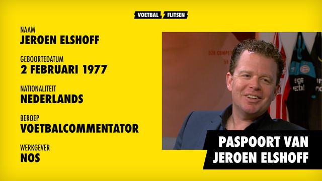 Jeroen Elshoff paspoort