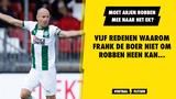 Vijf redenen waarom Robben mee naar het EK moet...