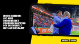 Mooie beelden: Luc Nilis onderbreekt voorbeschouwing PSV en knuffelt met Boskamp
